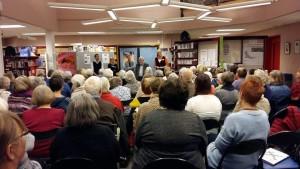 Novelkveld  Stokke bibliotek 5 nov 15
