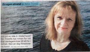 Aino i Tidningen Land